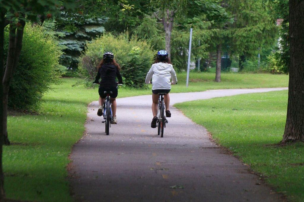 Piste cyclable verte Laval