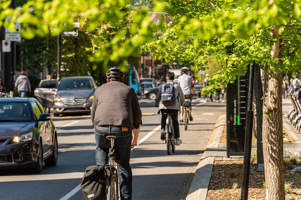 Ville de Montréal vélos espaces verts